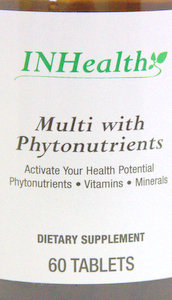 INHealth Multi with Phytonutrients 60 Tablets