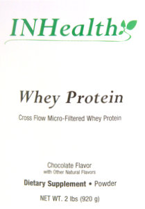 INHealth Whey Protein Chocolate